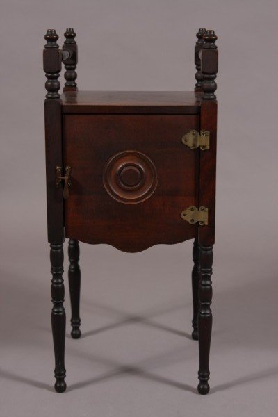 2: Victorian Style Mahogany Stained Stand, American, 20
