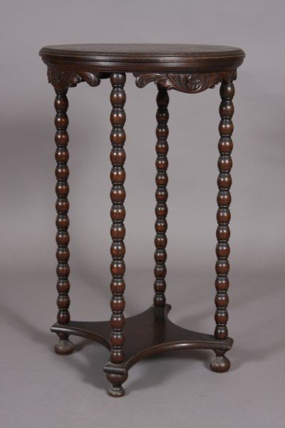 4: Late Victorian Oak Side Table, American, Early 20th