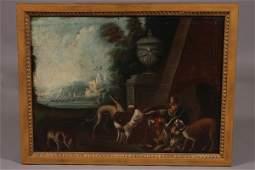 108: Unknown Artist, (Continental, 18th Century), Hunte