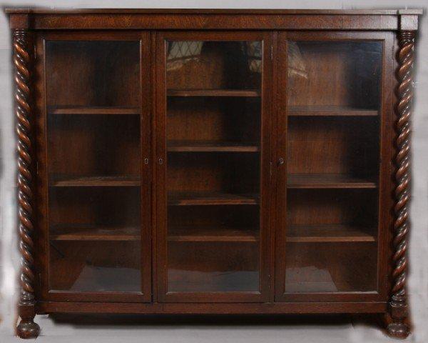 15A: Oak Cased Cabinet, American, 20th Century