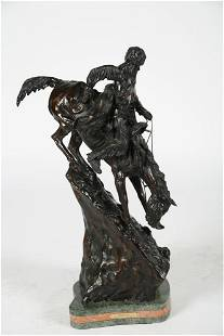 "After Remington, ""The Mountain Man"" Bronze"