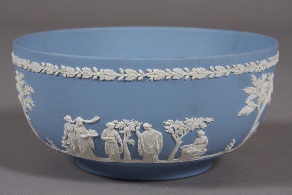2: Wedgwood Blue Jasperware Bowl, English, 20th Century