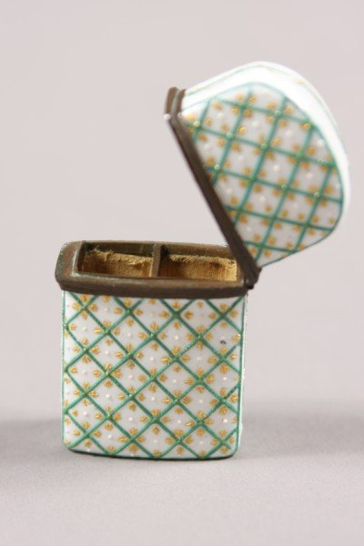 5: Enameled Scent Box, Continental, 19th Century, With