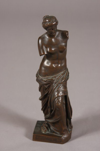 24: Bronze Figure of Venus de Milo, Continental, 20th C