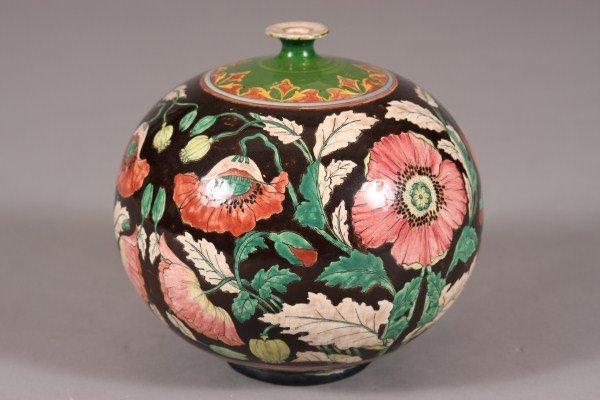 28: Royal Bonn Pottery Urn, German, Late 19th C., Marke