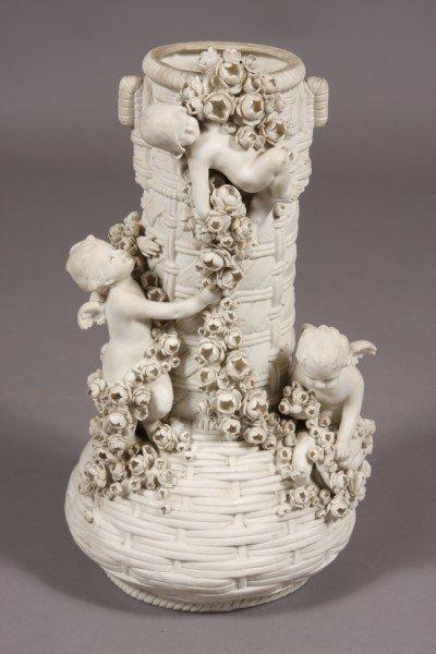 31: Amphora Bisque Urn, Austrian, Early 20th Century
