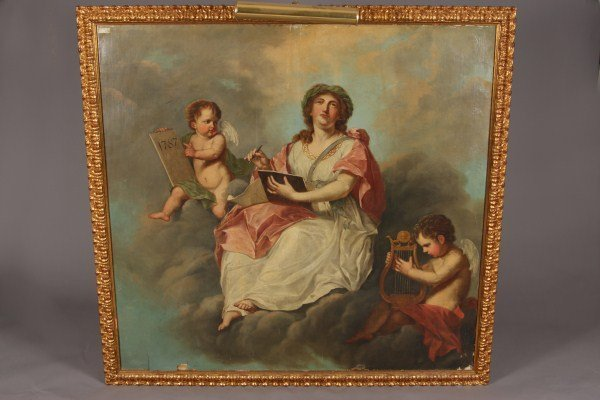 177: Unknown Artist, Continental, 18th C. Neo classical