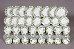 422 Richard Ginori Porcelain Dinner Service Italian