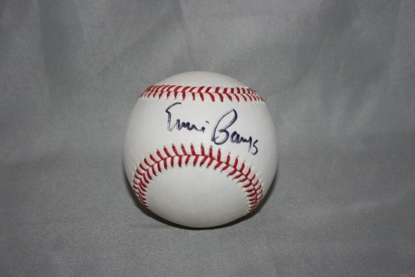 1: Ernie Banks Autographed Official NL Baseball