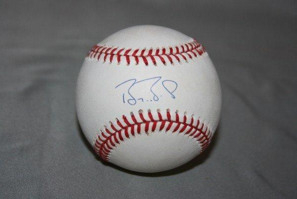 7: Barry Bonds Autographed Official NL Baseball