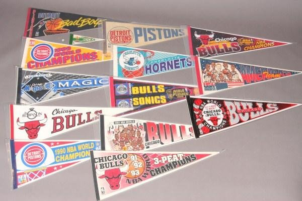 18: 14 Basketball Pennants From 1980's to Present