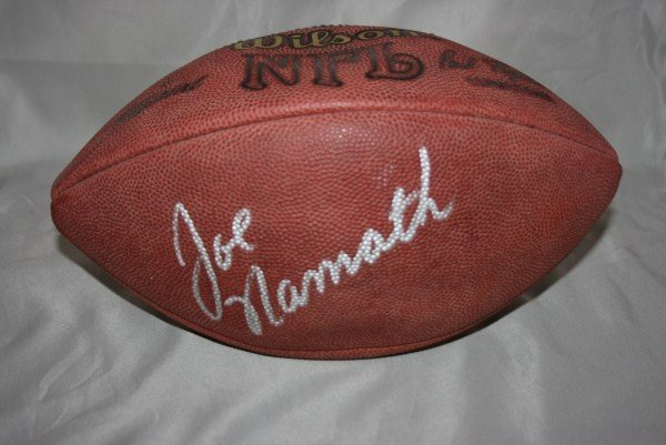 21: 3 Single Signed Hall of Fame Autographed Footballs