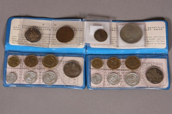 4: Grouping of Coins from Around the World