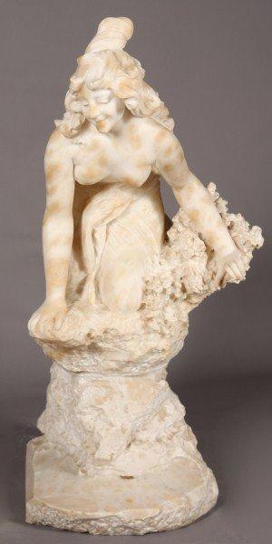 15: C. Vicari (Italian 19/20th Century) Maiden Perched