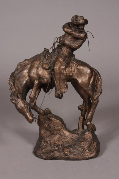 20: Austin Prod., Inc. Statue of Man on Horseback, Date