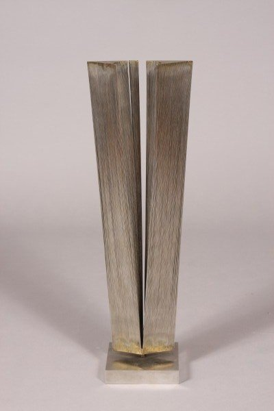 23: Metal Sculpture, Probably American 1970's/ 1980's,