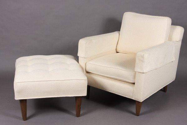 15: Edward Wormley for Dunbar, Upholstered Arm Chair &