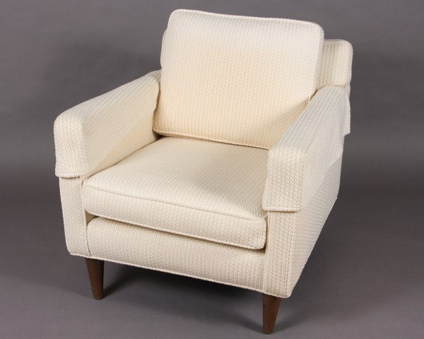 16: Edward Wormley for Dunbar Upholstered Arm Chair, Am