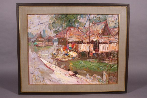 "46: Sujarit Hirankul (Thai) ""House By The Canal"""
