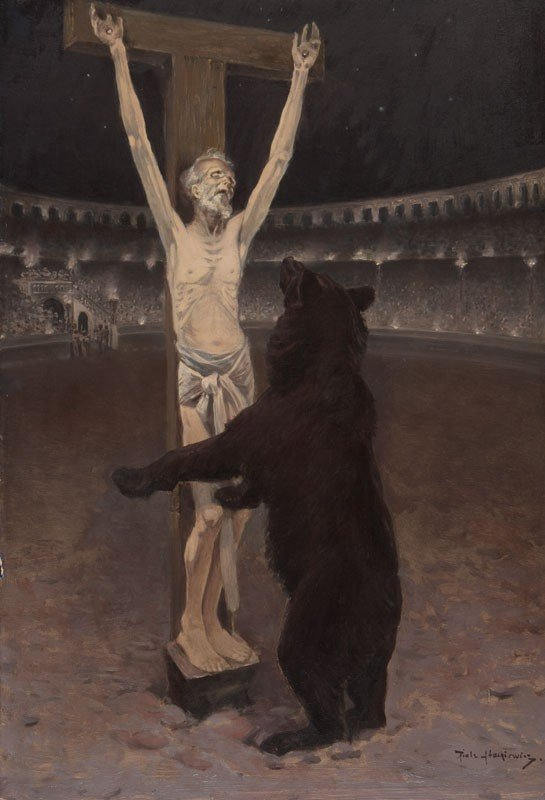 "70: Piotr Stachiewicz ""Quo Vadis"" 22 Illustrations  - 10"