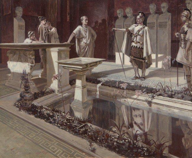 "70: Piotr Stachiewicz ""Quo Vadis"" 22 Illustrations  - 6"