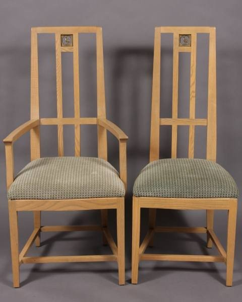 99: 12 Eliel Saarinen for Cranbrook Dining Chairs