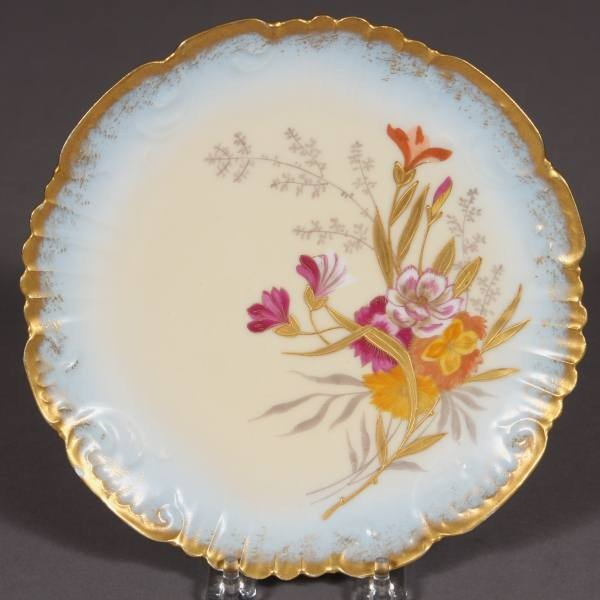 Limoges Porcelain Cabinet Plate, French, Early 20th C.