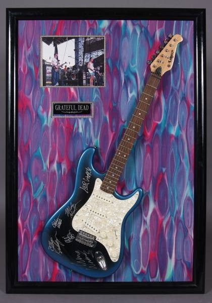 Lotus Guitar Signed by Jerry Garcia & The Grateful Dead