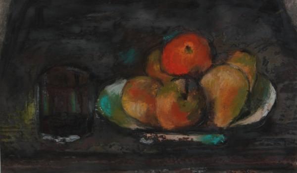 Unknown Artist (19th Century), Pastel Still Life