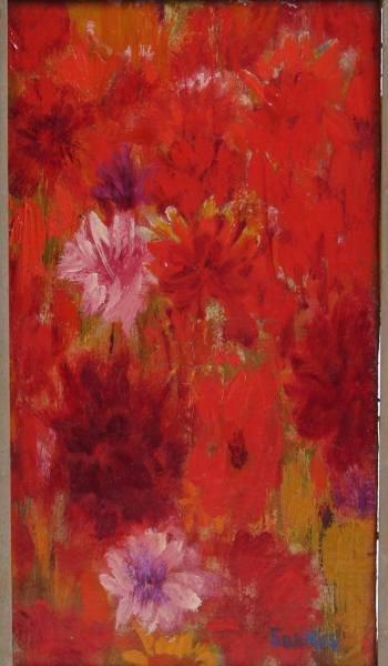 Sarkis Sarksian (1909-1977), Wild Flowers, Oil