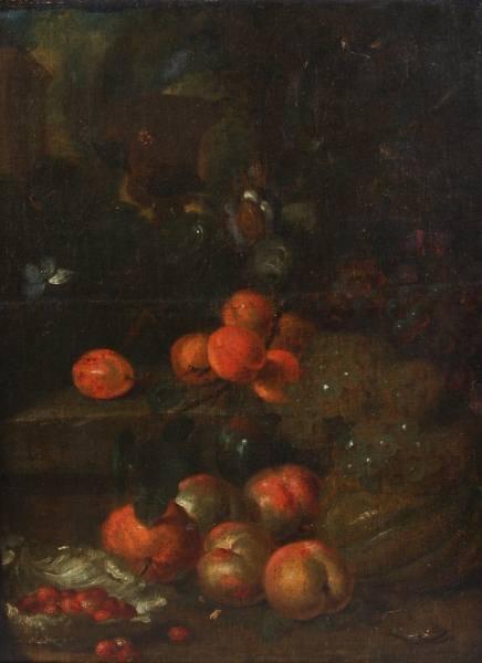 "Unknown Artist (Continental, 19th C.) ""Still Life"""