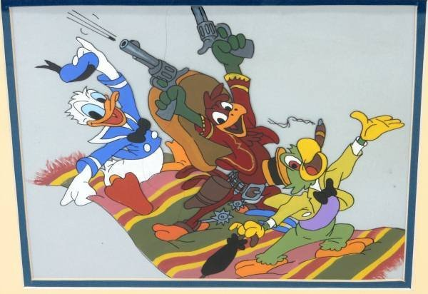 "Walt Disney Prod. Animation Cell of ""3 Caballeros"""