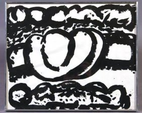 "Steve Sloman (Detroit, 20th C.) ""Untitled #8"""
