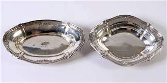 Two Dominick  Haff Sterling Silver Bowls 26 Ozt