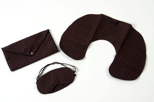 Louis Vuitton Silk Travel Sleep Set
