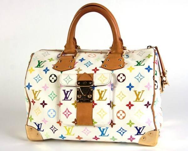 "Louis Vuitton ""Speedy 30"" Multicolor Bag"