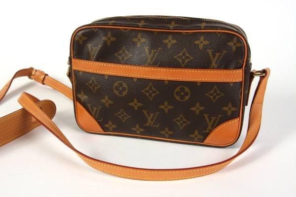 "Louis Vuitton ""Trocadero 24"" Cross Body Bag"