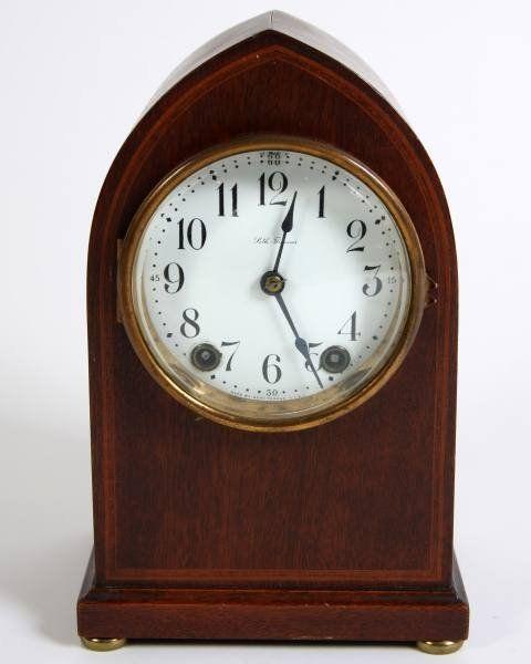Seth Thomas Mahogany Mantle Clock, 20th C.
