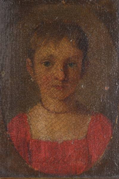 Unknown Artist (Continental, 19th C.), Girl