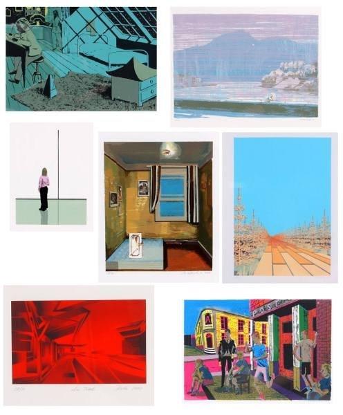 Leipzig Portfolio, Including Seven Silk Screens
