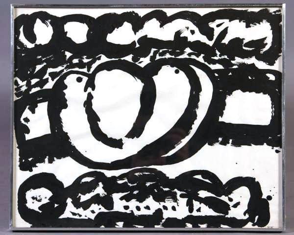 """7A: Steve Sloman (Detroit, B. 1943), """"Untitled #8"""""""