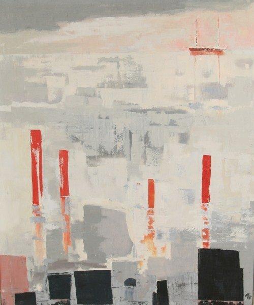 Harold Cohn (1908-1982), Abstracted Sailboats