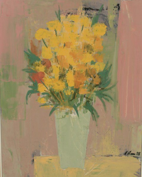 Harold Cohn (1908-1982), Floral Still Life