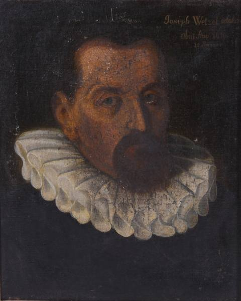 Artist Unknown (German, E. 17th C.), Joseph Wetzel