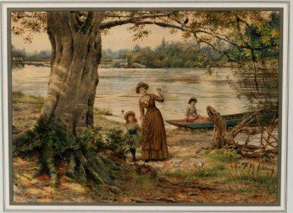 George Goodwin Kilburn (1862-1924), The Blackbird