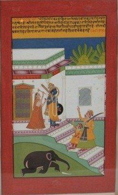 Indian School (Rajasthan, 18th-19th C.), Krishna