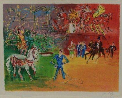 "Jean Dufy (1888-1964), ""Le Cirque"""