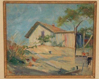 Karl Kappes (1861-1943), Cottage on Sand Drive