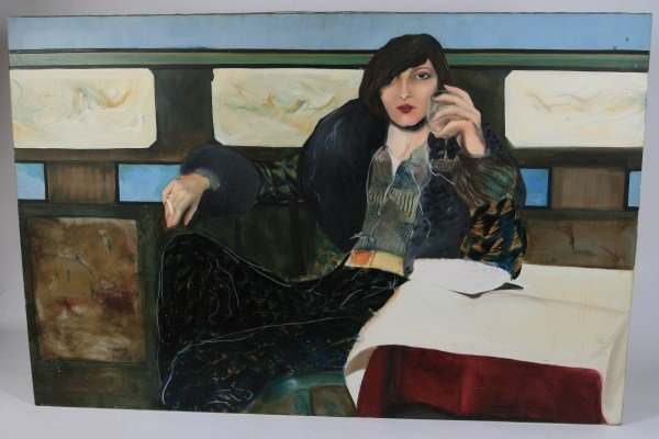 Unknown Artist (20th C.), Seated Woman
