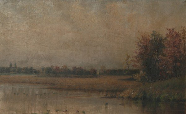 M.B. Conley (Late 19th-Early 20th C.), Landscape